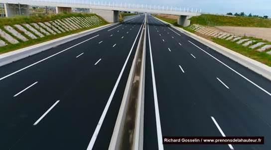 apr s trois ans de chantier la nouvelle autoroute a9 ouvre ce mardi. Black Bedroom Furniture Sets. Home Design Ideas